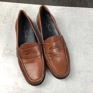 Cole Haan 6B Brown Leather Loafer